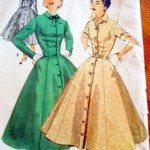 1950s - Full Skirted Dresses2